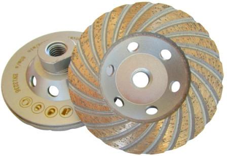 Cupa diamantata, M14 Turbo pt. Beton 125mm Profesional Standard - DXDH.4817.125-M14 imagine DiamantatExpert albertool.com