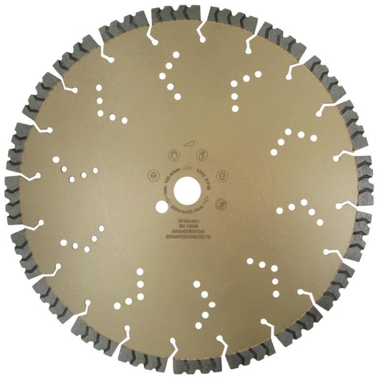 Disc DiamantatExpert pt. Beton armat extrem de dur & piatra - SHARK 230x22.2 (mm) Super Premium - DXDH.2040.230 imagine DiamantatExpert albertool.com