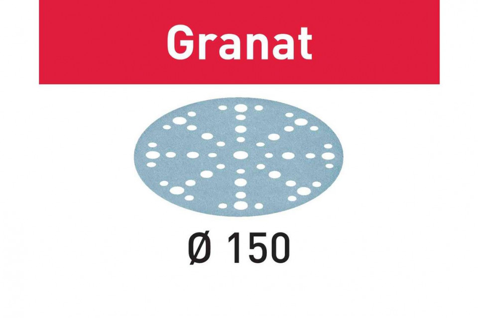 Foaie abraziva STF D150/48 P400 GR/100 Granat imagine Festool albertool.com