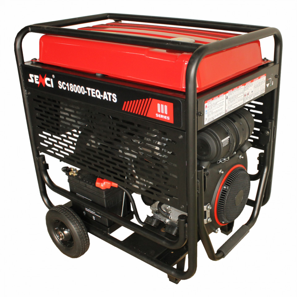 Generator SC18000TE Putere max. 17 kW, 400V, AVR, motor benzina imagine SENCI albertool.com