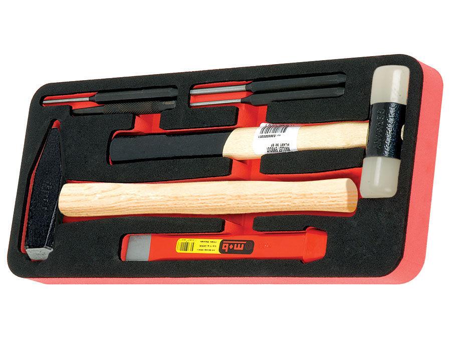 Modul OSC 7 cu ciocan coada lemn si accesorii 7 scule imagine MOBIUS - BRASOV albertool.com