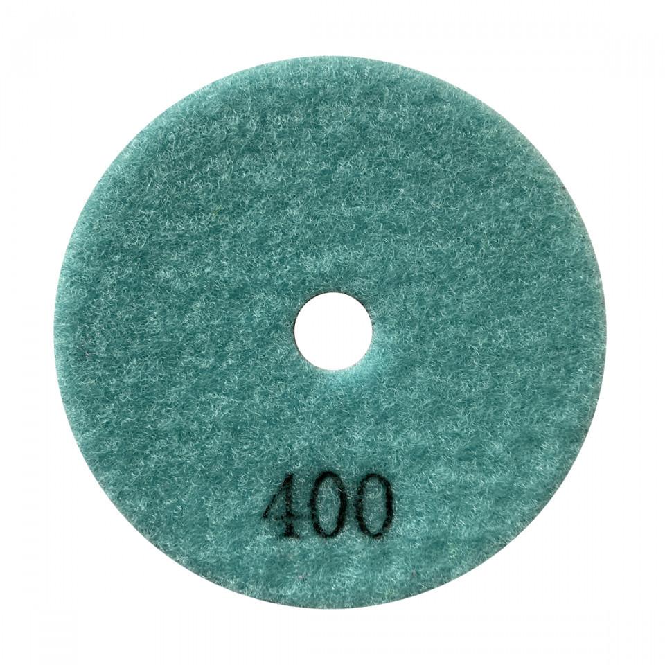 Paduri / dischete diamantate pt. slefuire uscata #400 Ø100mm - DXDY.DRYPAD.100.0400 DiamantatExpert