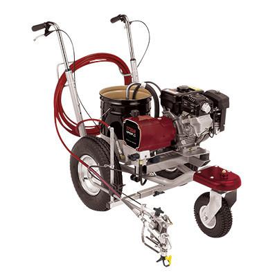 PowrLiner 2850, viteza trasare 126.8 m/min., duza max. 0.032″, motor Honda 3.5 cp Titan - Wagner