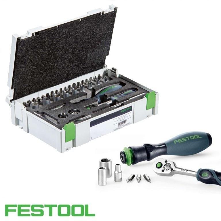 """Set de dispozitive cu clichet 1/4""""-CE RA-Set 36 Festool"""
