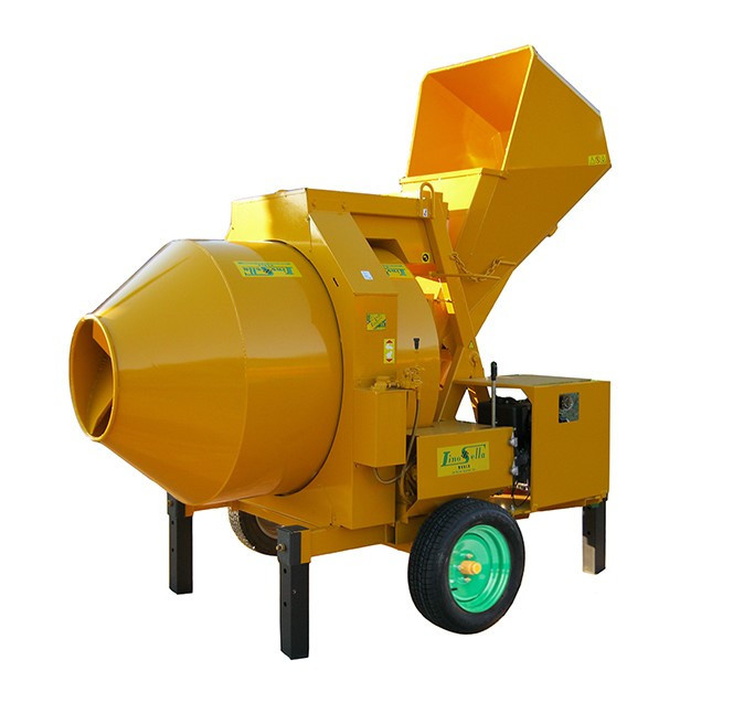 Betoniera automata 1000 lt, 23CP - LS-Hopper-S1000-Diesel Lino Sella