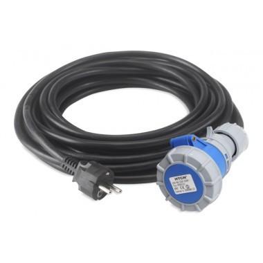 Cablu cu priza 230/50 EUR, monofazat - RUBI-58850 RUBI