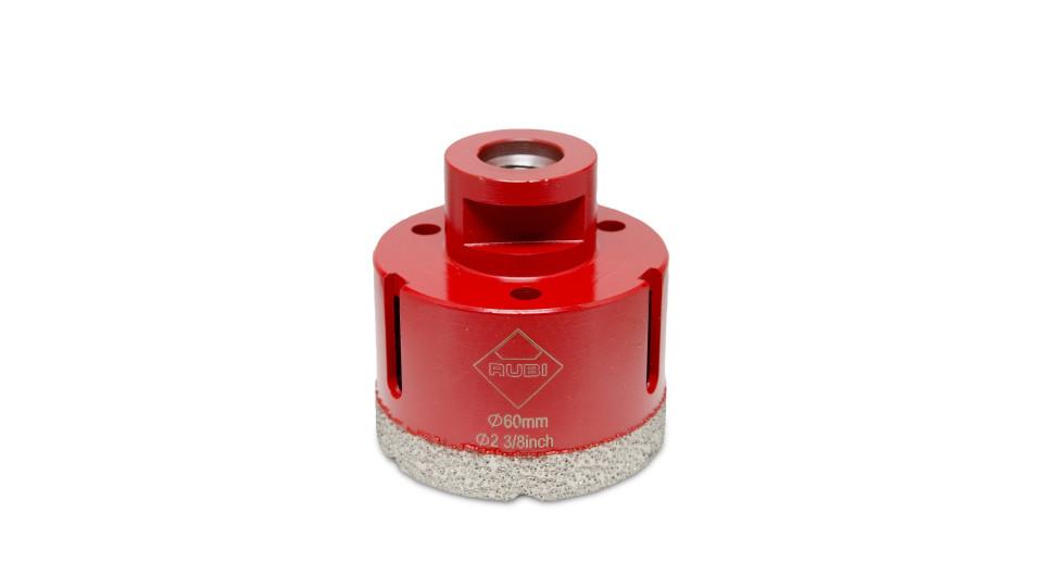 Carota diamantata pt. portelan, placi ceramice DryGres 60mm - RUBI-4915 RUBI