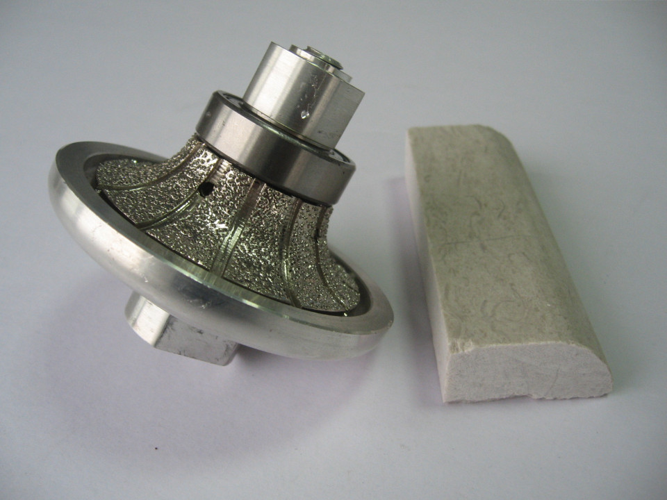 Freza Diamantata Semi-Baston Raza 15mm pt. Marmura, Granit si Gresie - DXDY.FGM.D75R15H20 DiamantatExpert