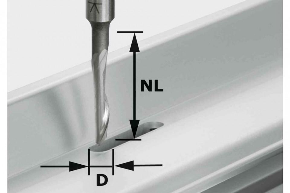 Freză pentru aluminiu HS S8 D5/NL23 imagine Festool albertool.com