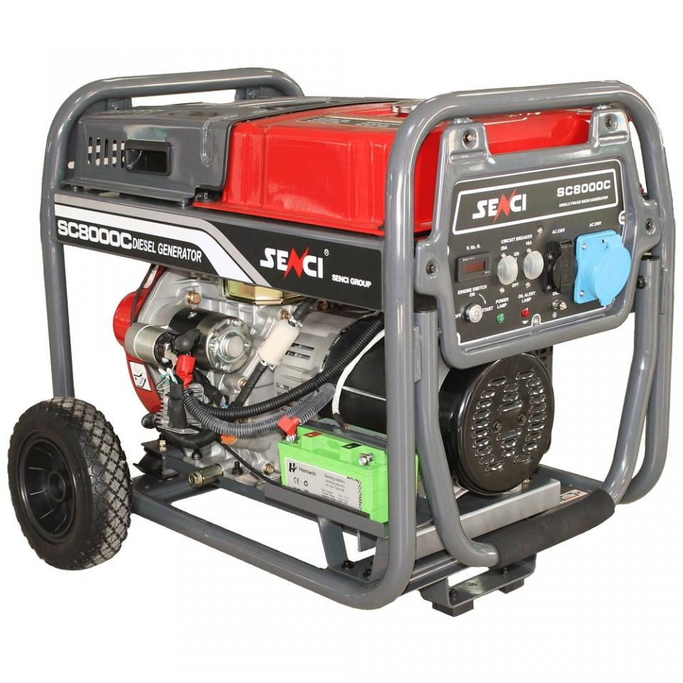 Generator de curent Senci SC-8000D imagine SENCI albertool.com