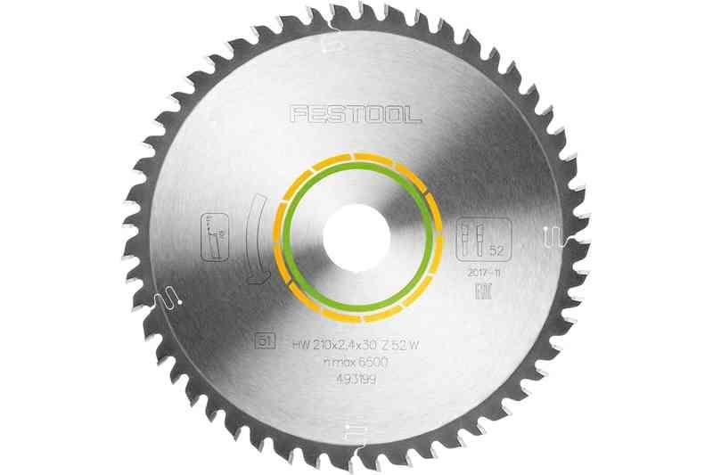 Panza de ferastrau circular cu dinti fini 210x2,4x30 W52 imagine Festool albertool.com