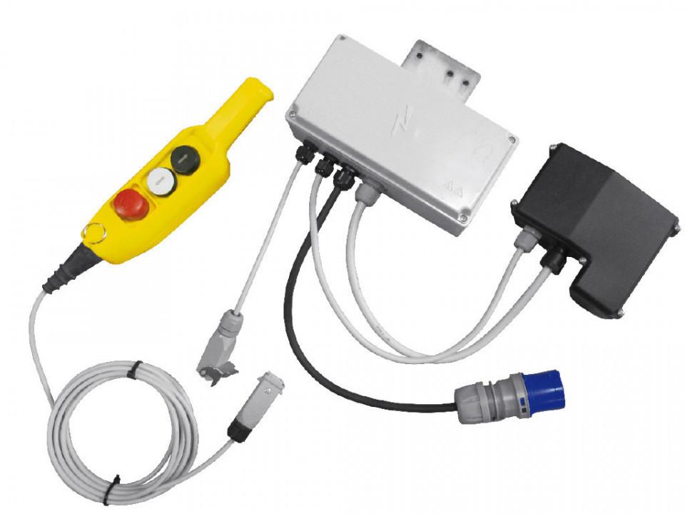 Set Telecomanda monofazata cu 50 metri de cablu pt. Electropalane IORI-REMOTE50m-MONO Officine IORI