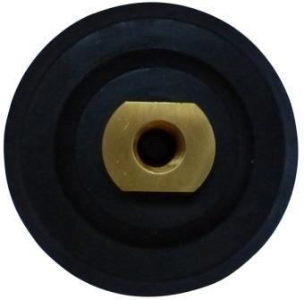 Suport flexibil pt. dischete / paduri diamantate cu velcro 125m - prindere M14 - DXDH.23007.125.U DiamantatExpert