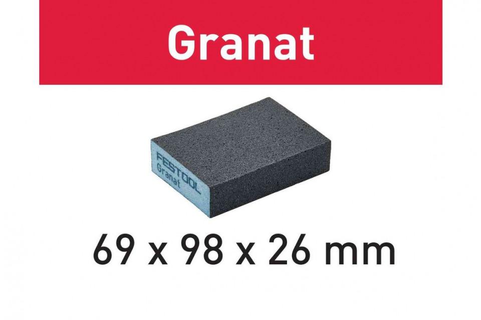 Bloc de şlefuire 69x98x26 220 GR/6 Granat imagine Festool albertool.com