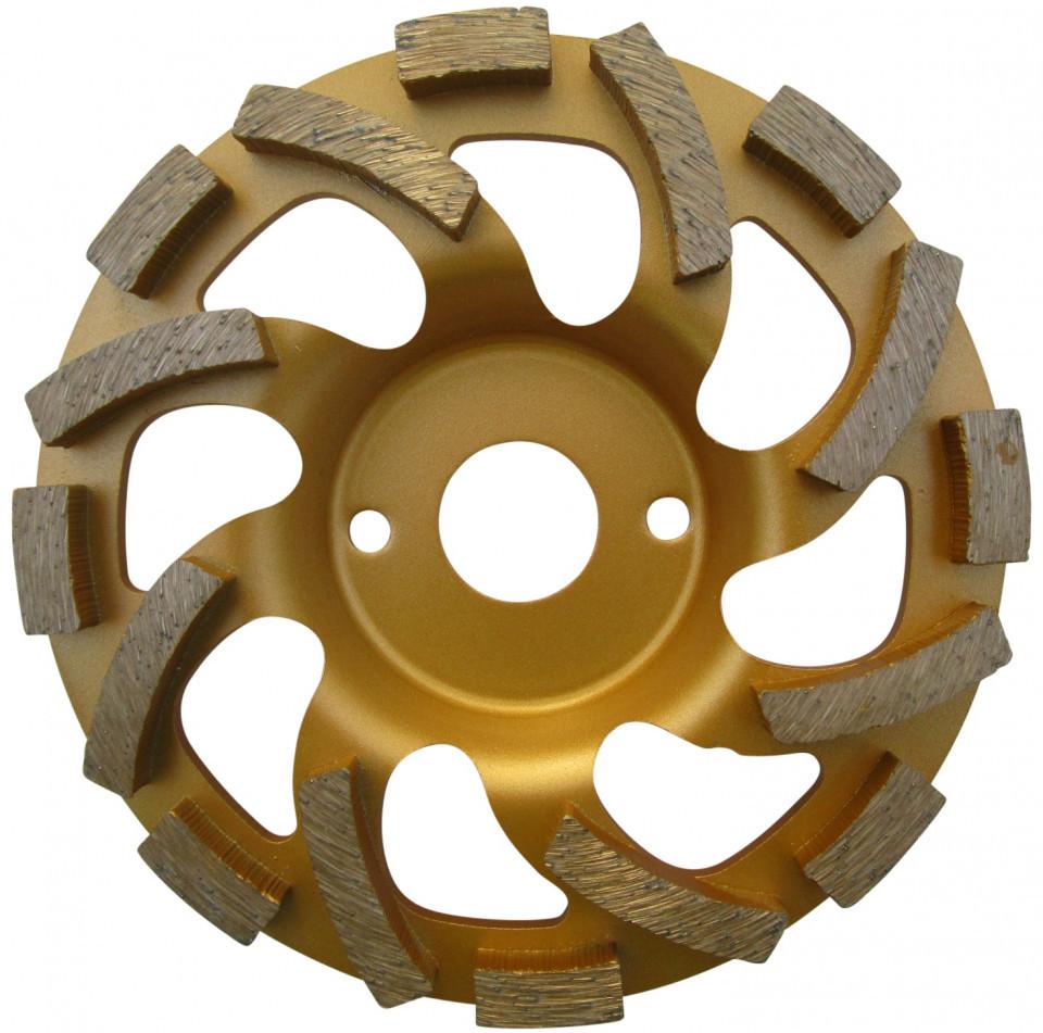 "Cupa diamantata ""ventilator"" - Beton & Abrazive 125mm Premium - DXDH.4412.125 DiamantatExpert"
