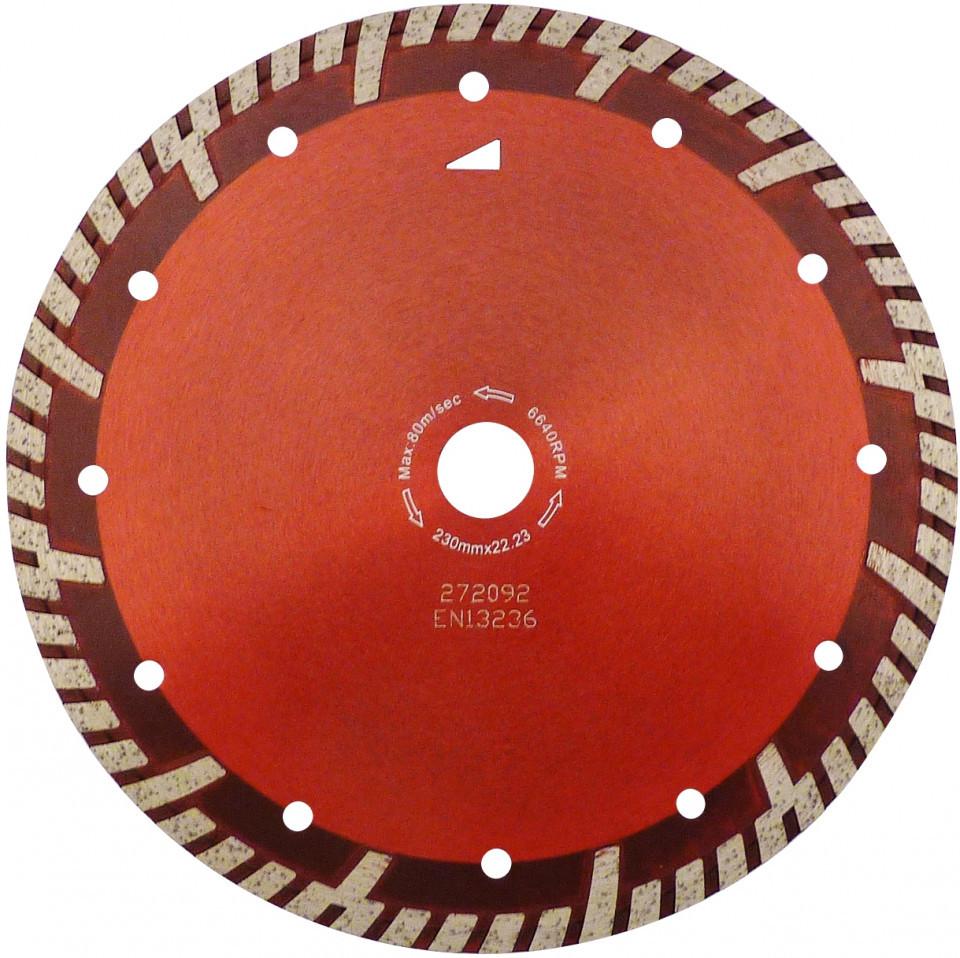 Disc DiamantatExpert pt. Beton armat & Granit - Turbo GS 115x22.2 (mm) Super Premium - DXDH.2287.115 imagine DiamantatExpert albertool.com