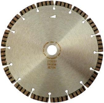 Disc DiamantatExpert pt. Beton armat / Mat. Dure - Turbo Laser 300x25.4 (mm) Premium - DXDH.2007.300.25 imagine DiamantatExpert albertool.com