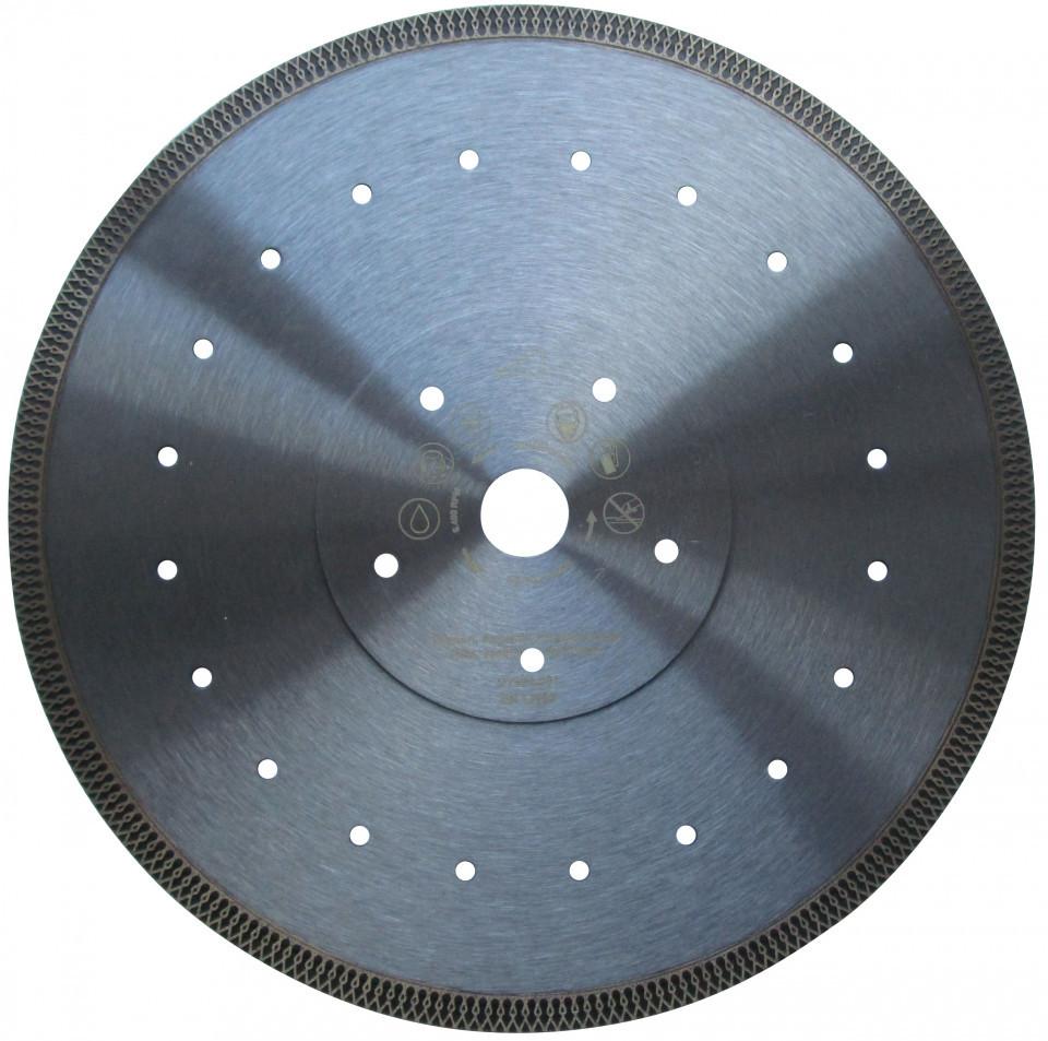 Disc DiamantatExpert pt. Ceramica dura, portelan, gresie 300x25.4 (mm) Super Premium - DXDH.3901.300.25 imagine DiamantatExpert albertool.com