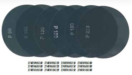 Disc din panza pt. finisari pardoseli, 2 fete Ø490mm, gran. 180 - Raimondi-274RT490G180 Raimondi