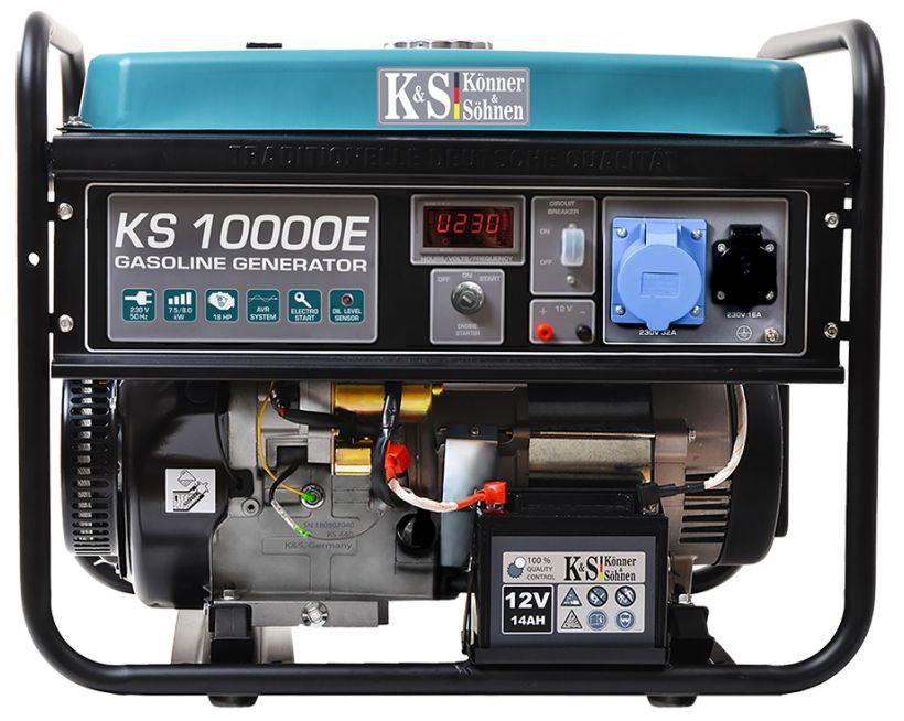 Generator de curent 8 kW benzina PRO - Konner & Sohnen - KS-10000E imagine Konner & Sohnen albertool.com