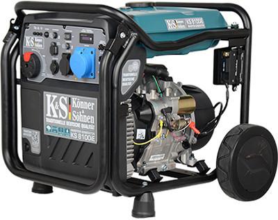 Generator de curent 8 kW inverter - benzina - Konner & Sohnen - KS-8100iE imagine Konner & Sohnen albertool.com