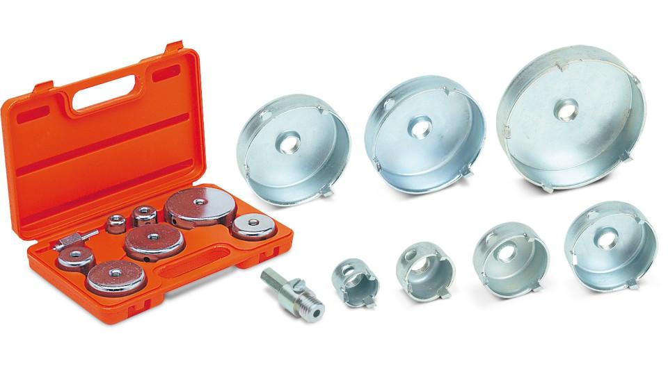 Kit carote vidia 27, 35, 45, 55, 65, 70, 85mm, 7 buc. - RUBI-4995 imagine RUBI albertool.com