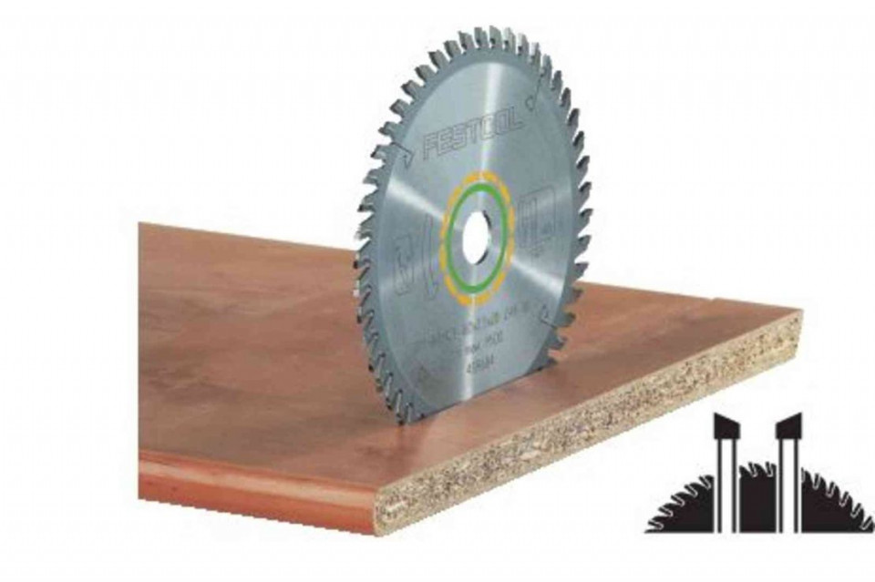 Panza de ferastrau circular cu dinti fini 160x2,2x20 W48 Festool