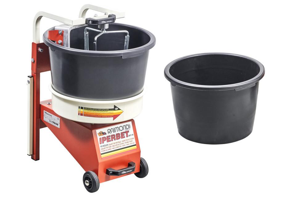 Amestecator / mixer pt. adezivi / mortar 45l, 0.37kW, IPERBET FLUID - Raimondi-110FLUID Raimondi