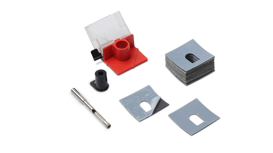 Carota diamantata pt. portelan, placi ceramice EasyGres kit 6mm - RUBI-4927 RUBI