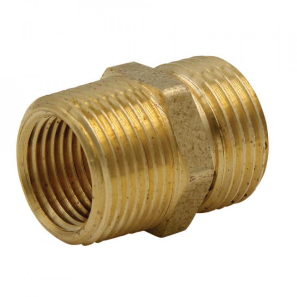 Conector Bisonte prelungire furtun diam. 1/4″ – 1/4″ imagine Bisonte albertool.com
