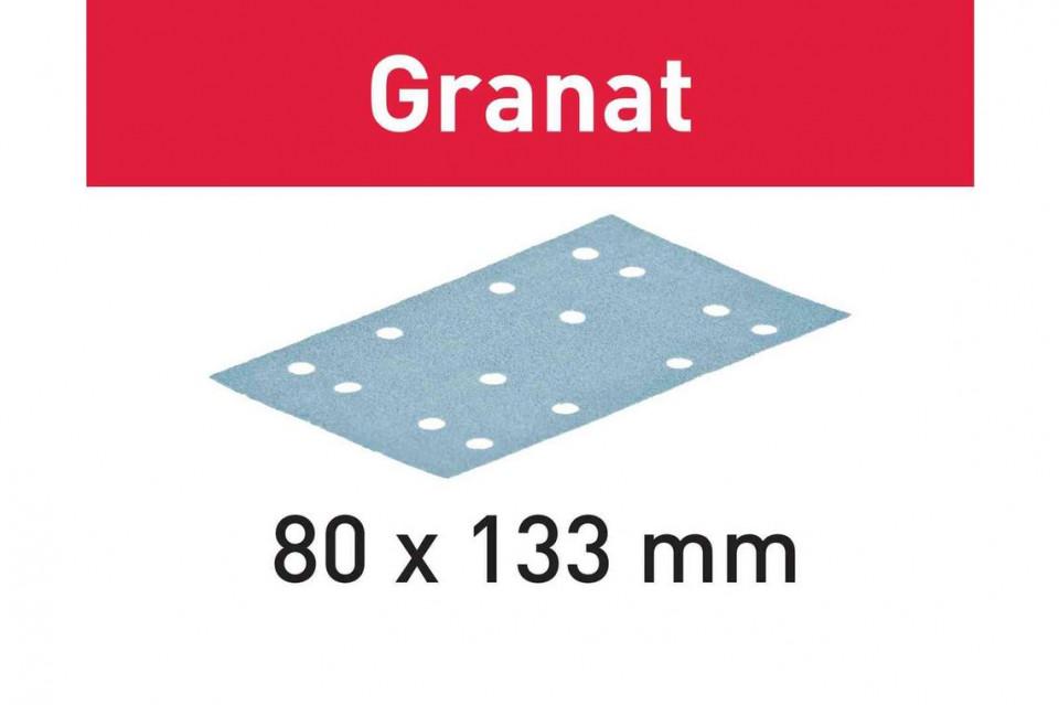 Foaie abraziva STF 80x133 P280 GR/100 Granat imagine Festool albertool.com