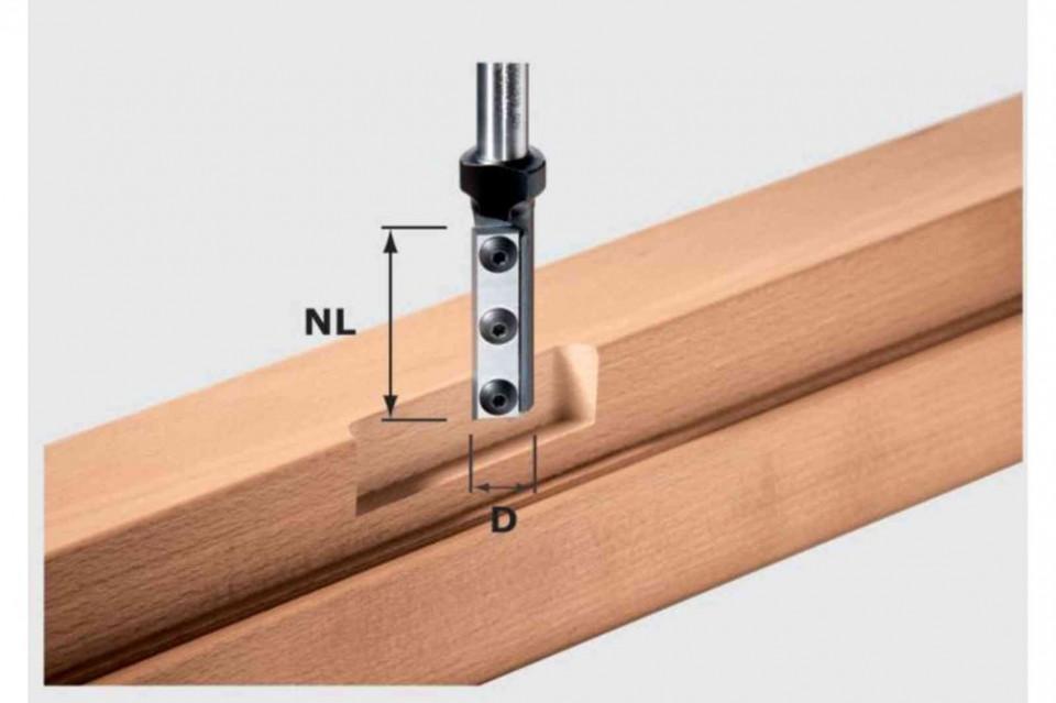 Freză de canelare cu plăcuţe amovibile HW S12 D16/50 WP imagine Festool albertool.com