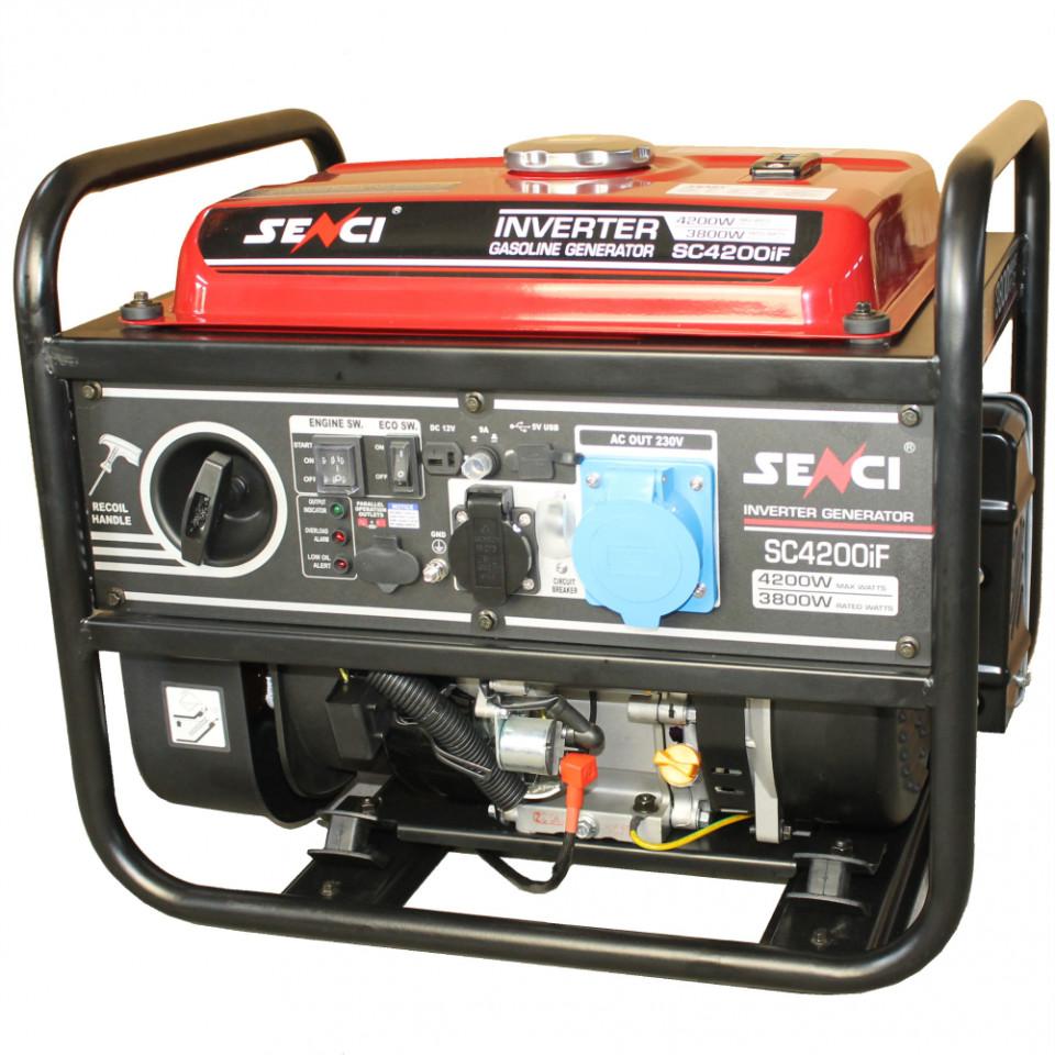 Generator inverter Senci SC-4200iF, Putere max. 4.2 kW, 230V, AVR imagine SENCI albertool.com