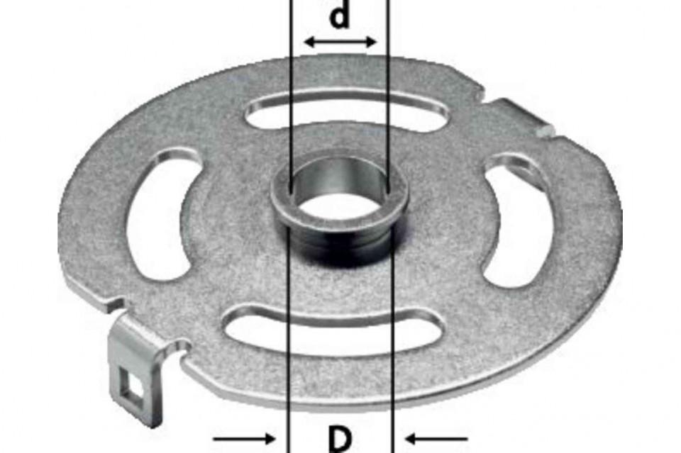 Inel de copiere KR-D 17,0/OF 1400 Festool