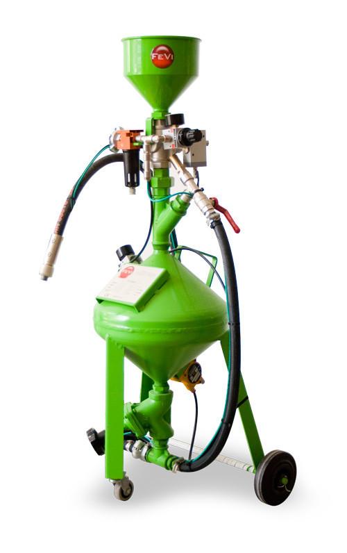 Masina de sablat cu abraziv - 8 litri - fara recuperare FEVI-SABIX-8-Plus Fevi