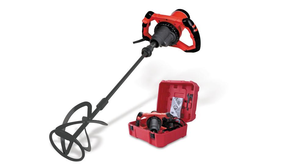 Mixer / amestecator pt. adezivi / mortar 1800W, Profesional, RUBIMIX-9 N PLUS 230V 50-60 Hz. cu valiza transport - RUBI-26924 RUBI