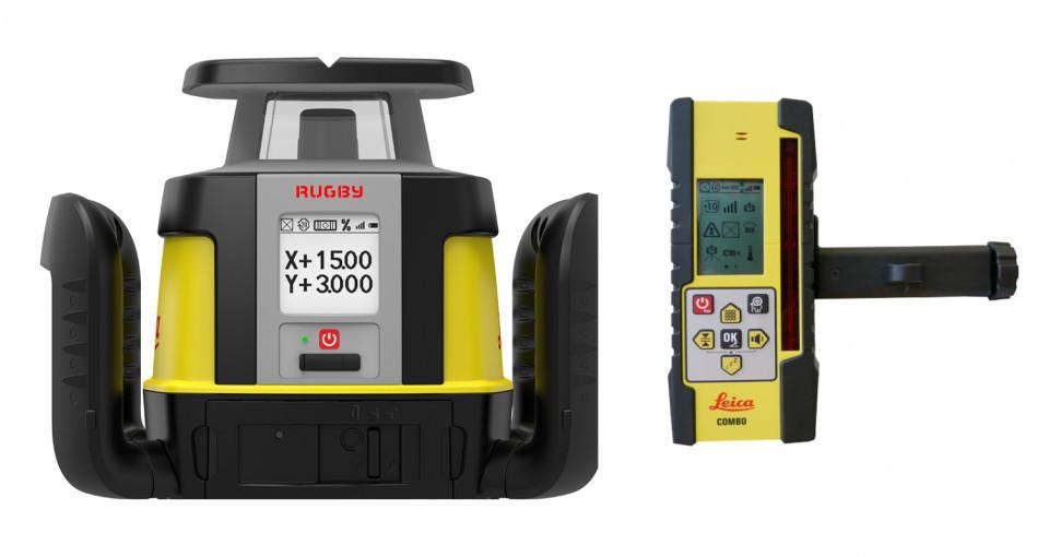 Nivela Laser Rotativa Rugby Leica CLI - Leica LEICA