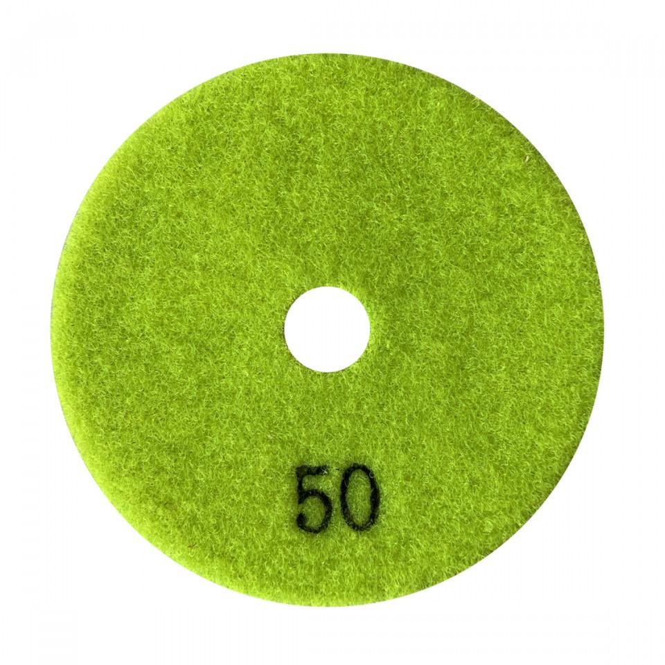 Paduri / dischete diamantate pt. slefuire uscata #50 Ø125mm - DXDY.DRYPAD.125.0050 DiamantatExpert