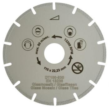 Disc DiamantatExpert pt. Mozaic - Special 115x22.2 (mm) Super Premium - DXDH.2107.115 DiamantatExpert