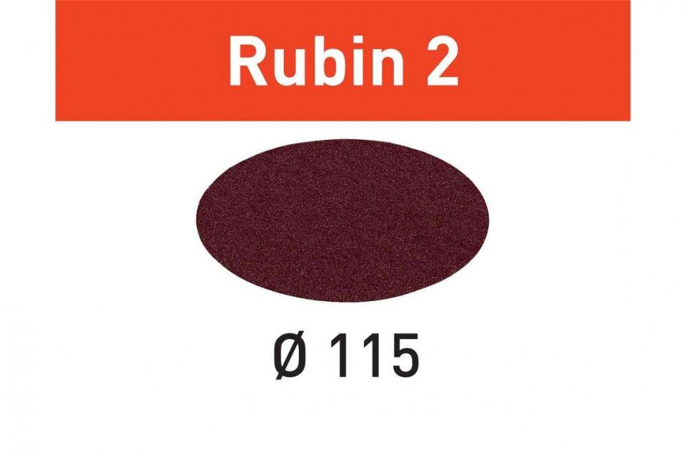 Foaie abraziva STF D115 P120 RU2/50 Rubin 2 imagine Festool albertool.com