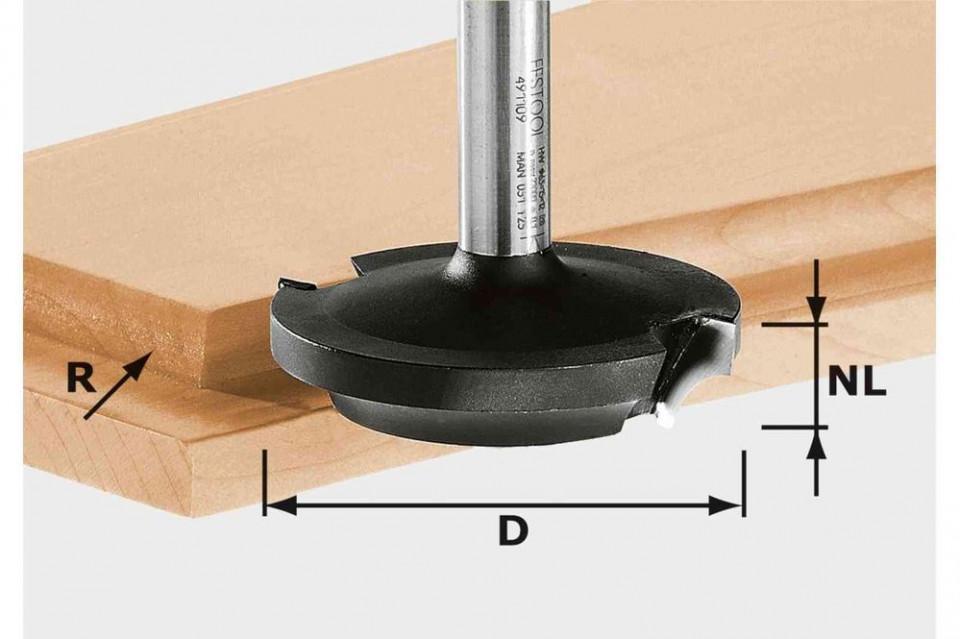 Freză de finisare plană HW D68/14/R35 S12 imagine Festool albertool.com