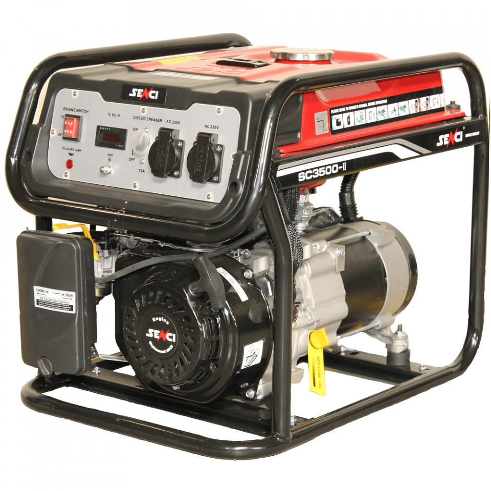 Generator curent SENCI SC-3500, Putere max. 3.1 kW, 230V, AVR, motor benzina imagine SENCI albertool.com