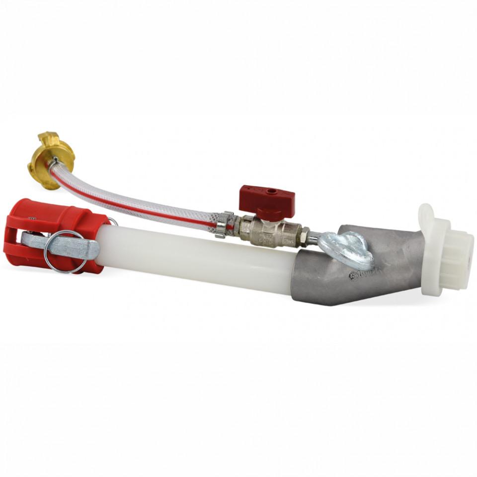Lance aplicare mortar preamestec cu deflector de Ø 14 mm IMER