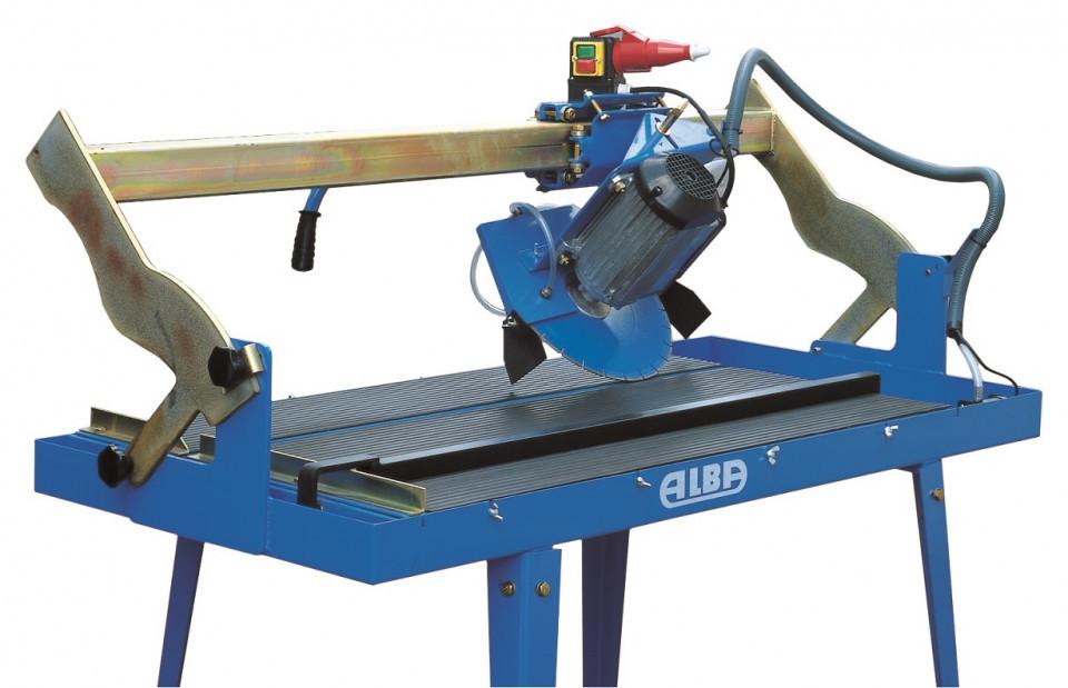 Masina de taiat materiale de constructii 119cm, 3 CP - Alba-TVD-125-3M ALBA