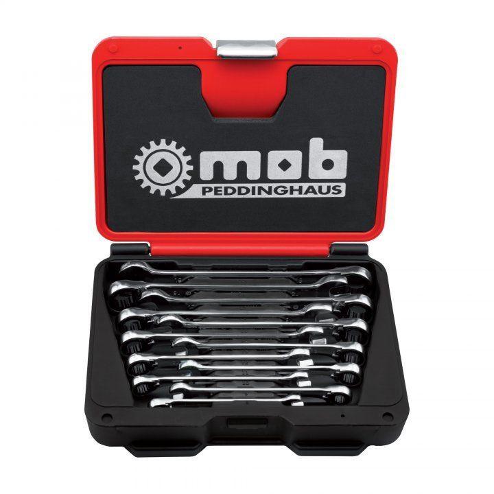 Set chei combinate cu clichet reversibil, cutie FUSION BOX 12 imagine MOBIUS - BRASOV albertool.com