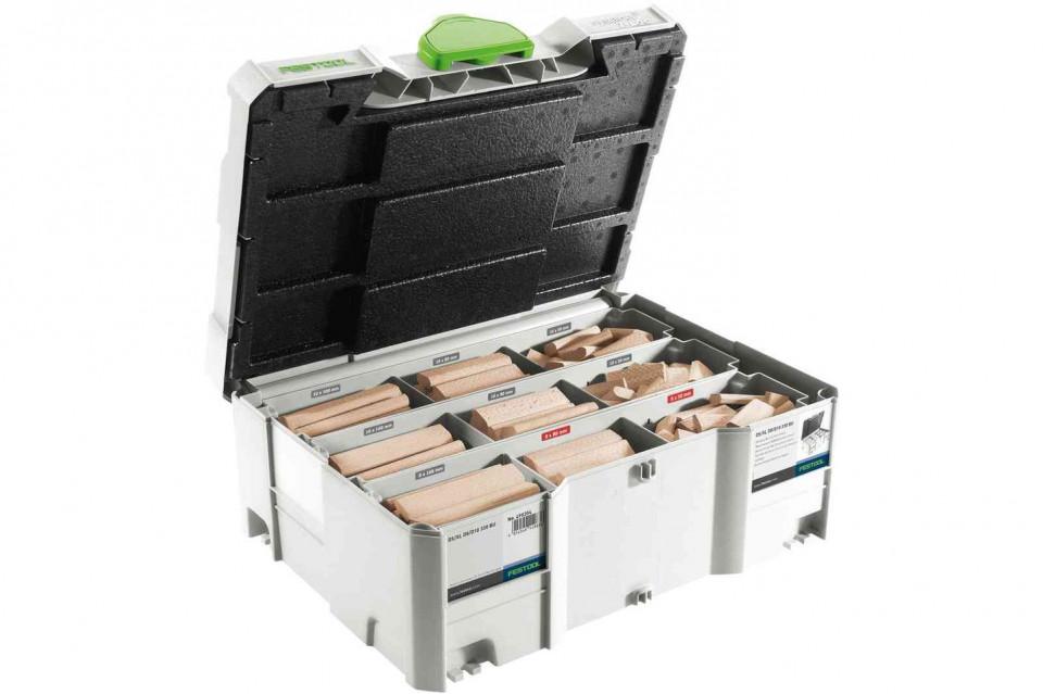 "Sortiment de cepuri ""biscuit"" DOMINO XL din lemn de fag DS/XL D8/D10 306x BU imagine Festool albertool.com"
