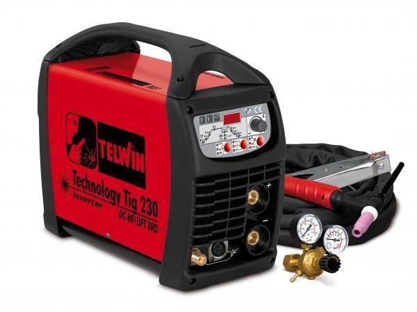 Technology Tig 230DC/HF - Aparat de sudura TELWIN tip TIG imagine TELWIN albertool.com
