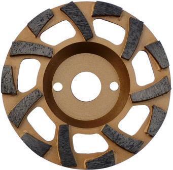 Cupa diamantata 'ventilator' - Beton dur & Abrazive 125mm Premium - DXDH.4612.125 imagine DiamantatExpert albertool.com