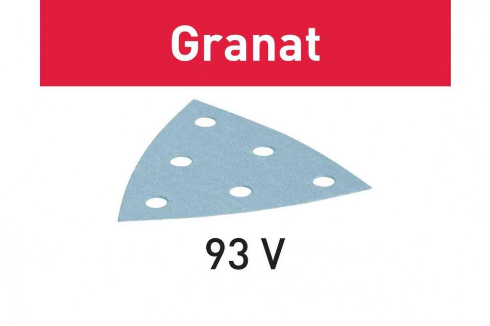 disc de slefuire STF V93/6 P280 GR/100 Granat imagine Festool albertool.com
