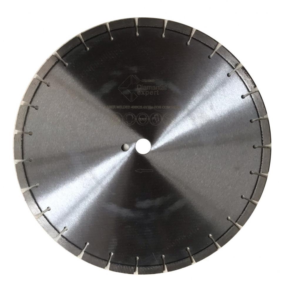 Disc diamantat Laser, diam. 350mm - Standard - Beton - DE.DYC.350.25 imagine DiamantatExpert albertool.com